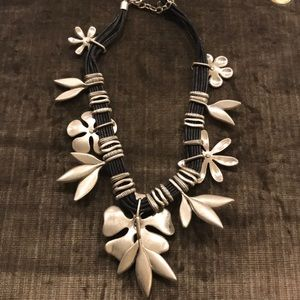 Jewelry - St.Thomas necklace multi strand with pewter